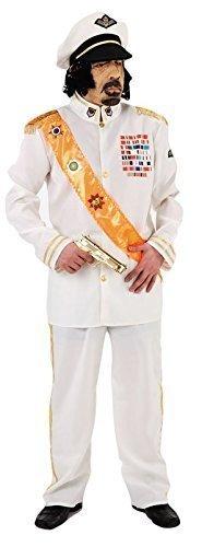Herren Oberst Gaddafi Diktator Armee Militär Villain Kostüm Kleid - Diktator Kostüm
