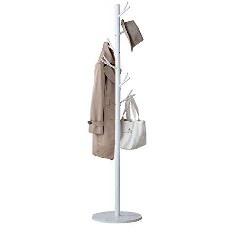 QARYYQ Einfache Moderne kleiderbügel kleiderbügel Boden Stil Mode Schlafzimmer Wohnzimmer Hause weiße kleiderbügel 140 cm x 70 x 40 cm Garderobe -