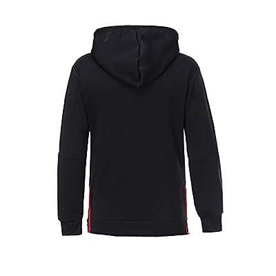 TWBB Herren Hoodie Streifen Kapuzenpullover Slim-Fit Sport Outwear Coat Lange Ärmel Mantel Hemd von TWBB auf Gartenmöbel von Du und Dein Garten