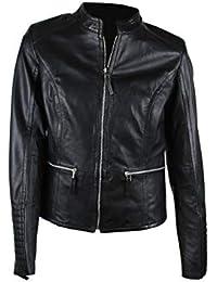 437ae3a97bd9e7 Zerimar Lederjacke für Damen   Lederjacke Damen   Lederjacke Damen  Echtleder   Damen Jacke Leder