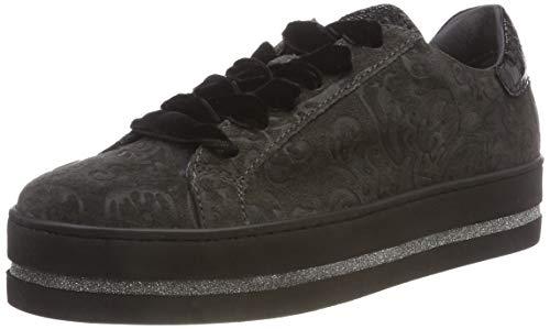 Maripe Damen 27348 Hohe Sneaker Grau (Nizza Reverse Pepper 9) 36 EU