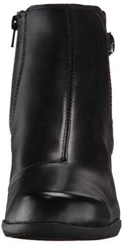 Clarks Rosalyn Lara Stiefel Black Leather