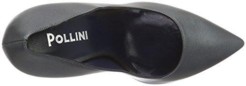 Pollini Damen Shoes Slipper Grau (Grey 018)