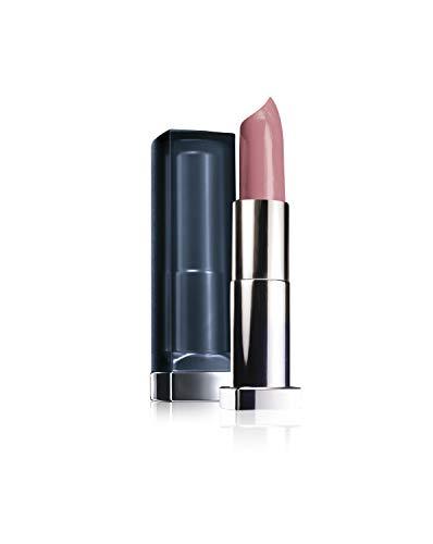 Maybelline Color Sensational Inti-Matte Nudes Lippenstift, Nr. 987 smoky rose, taucht die Lippen in sinnliches, warmes Rosa, mit Matt-Finish, feuchtigkeitsspendend, 4,4 g
