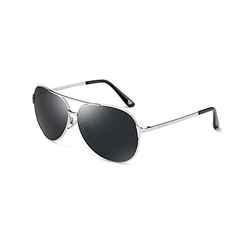 YQQ Herren Sonnenbrille High-Definition-Fahrspiegel Sportbrillen High-Definition-Brille Polarisierte Gläser Fahrbrille Blendschutz Mode (Farbe : 1)