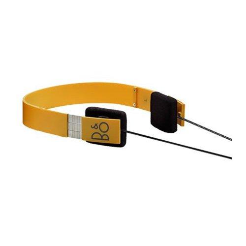 B&O Play 16413231 Form 2 On-Ear Headphones with Mic (Yellow)
