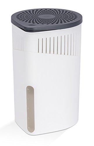 Wenko 50240100 Design Raumentfeuchter Drop 1000 g Luftentfeuchter, Fassungsvermögen 1.6 L, 15 x 23 x 15 cm, weiß