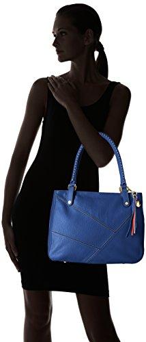 Arcadia ADRIA Sac de plage, Femme - 4750 Bleu (Bleu)