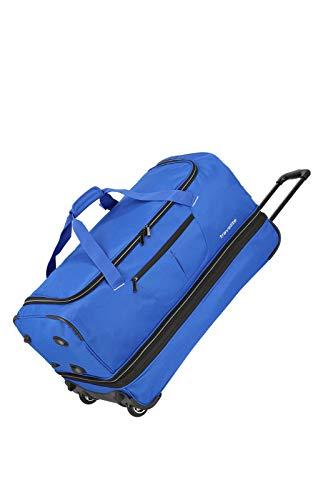 Travelite Basics Trolley Reisetasche auf Rollen 70cm, erweiterbar auf 119 Liter Volumen, in sechs Farben Reise-Henkeltasche, 70 cm, 98 Liter, Royal Blau