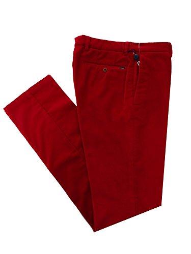 Ralph Lauren Herren Cord Hose - Signature Preppy Pant - Rot - W30 / L34 -