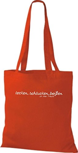 Shirtstown, Borsa tote donna rot