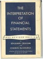 The interpretation of financial statements,