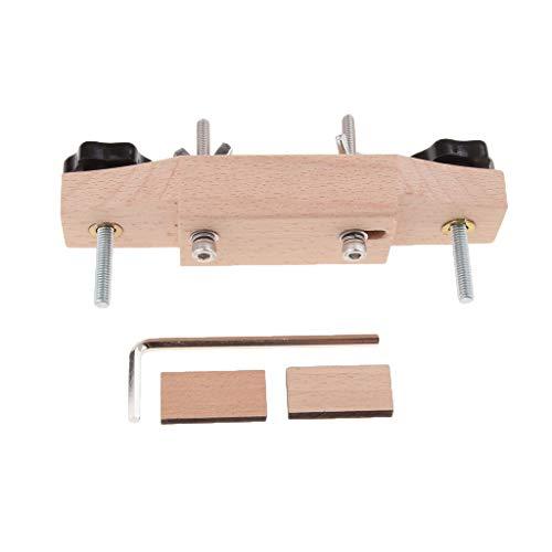 1 Confezione Di Chitarra Ponte Caul Clamp Luthier Strumenti Parti Dello Strumento Musicale