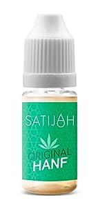 Satijah 10ml Premium CBD Liquid mit CBD Cannabidiol für E-Zigaretten und E-Shishas in 5 Geschmacksvariationen (nikotinfrei)