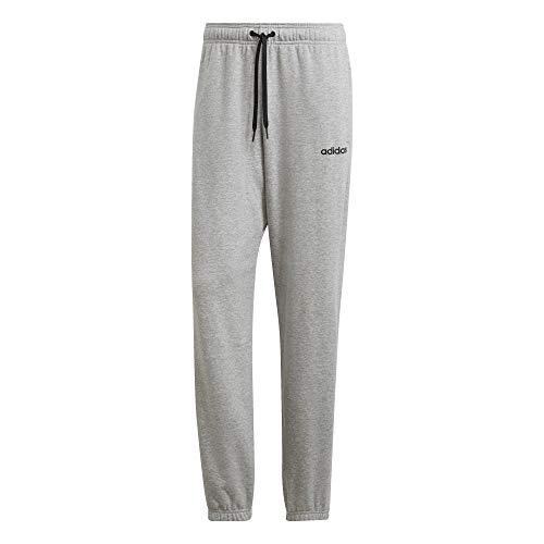 adidas Herren Essentials Plain French Terry Unterhose, Medium Heather/Black/Solid Grey, 2XLS - Medium Terry