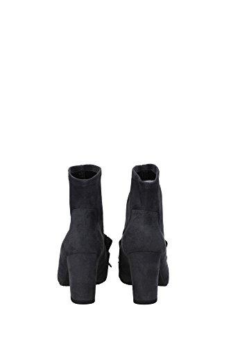 UL37052GRAY Stuart Weitzman Chaussure mi montantes Femme Chamois Gris Gris