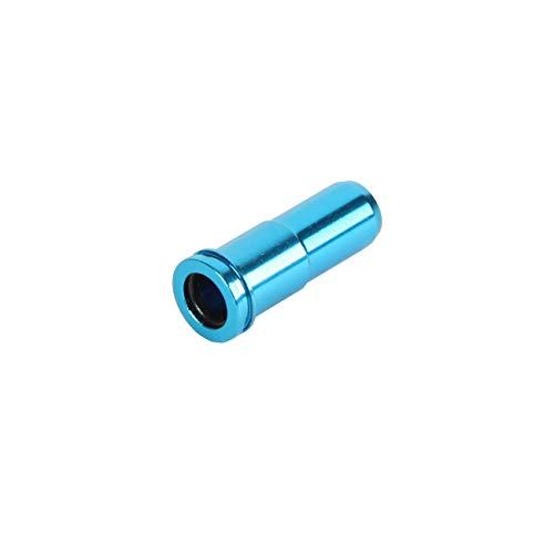 Unbekannt Element CNC Aluminium Air Seal Nozzle M4 Serie blau Softair Zubehör