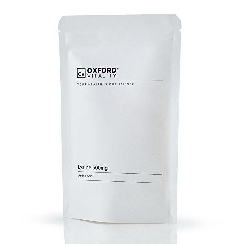 Oxford Vitality - Lysine 500mg Tabletten (Tabletten 60 L-lysine)
