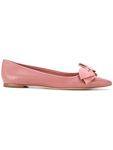 Tory Burch Damen 44412651 Rosa Leder Ballerinas