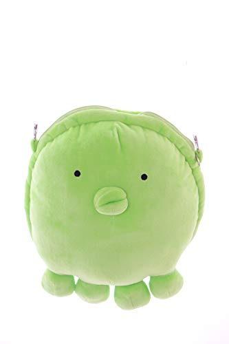 (Kawaii-Story LB-103 Grün Tako Oktopus Eromanga Sensei Anime Manga Cosplay Pastel Goth Lolita Stoff Plüsch Umhänge-Tasche)