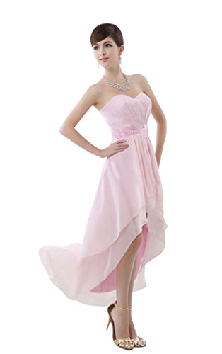 Beauty-Emily - Abito da sposa - Moda - Senza maniche  - Donna Oro