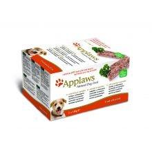 MPM GESTI Applaws perro Pate fresca selección múltiple paquete de 150g 5 Envase de 1