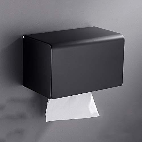 Lincjly ttkc Wandmontage, Space Aluminium , Toilettenpapierrolle Bad Tissue Holder Handyablage Regalständer Aluminium Rack Selbstklebend mit Klebstoff oder Wandhalterung mit Schrauben (Color : G)