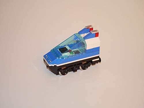 Preisvergleich Produktbild Gebrauchte Bausteine Ersatz für Lego System Lego 9V Eisenbahn Train 4560 Lok Triebwagen in blau + 9V Motor Engine KOMPATIBEL MIT Lego 9V System