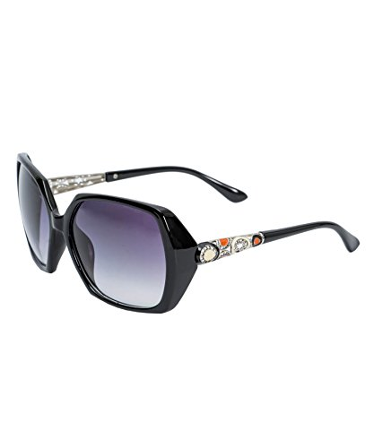 E Fashion Up Oversized Women's Sunglasses (2339|1|Black)