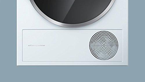Siemens iQ800 WT47Y701 iSensoric Premium-Wärmepumpentrockner / A++ / 8 kg / Weiß / Selbstreinigender Kondensator / SoftDry-Trommelsystem / TFT-Display - 12