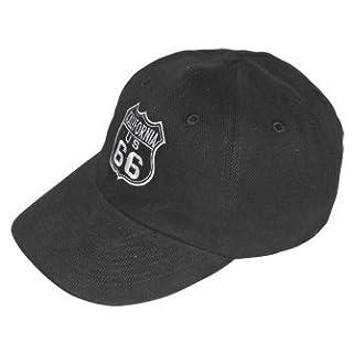 Asian Industries Basecap Route 66 schwarz