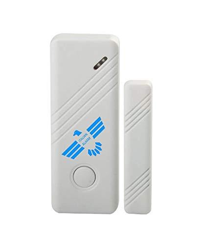 ITALIAN ALARM sensore antifurto magnetico allarme porte finestre wireless  compatibile con tutte le centrali ITALIAN ALARM e in genere centrali 433