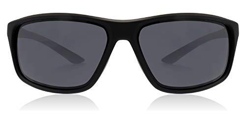 Nike occhiali da sole adrenaline ev1112 001 66-15-135 unisex matt black lenti grey