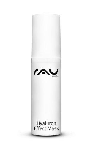 RAU Hyaluron Plus Cream 5 ml - Crème hyaluronique avec filtre UV, protège la peau du vieillissement prématuré. Crème visage hydratante à base d'huile d'avocat, de beurre de karité et d'acide hyaluronique. Ce soin visage pénètre en profondeur et regénère votre peau. Effet anti-âge! - Taille Voyage Mini