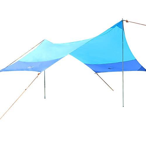 Camping-Plane, UV-Schutz und wasserdicht, leicht für Camping, Rucksackreisen und Outdoor-Abenteuer - Vordach Zubehör