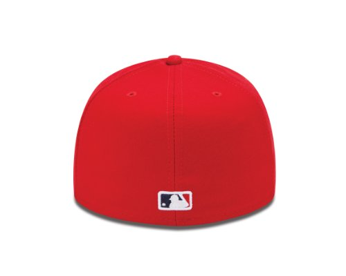 Baseball cap new era bonnet pour adulte authentic boston red sox casquette mlb 59Fifty fitted team colour red