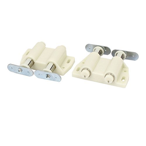 Price comparison product image DealMux Home Cupboard Cabinet Drawer Door Push To Open Magnetic Catch Touch Latch 2pcs