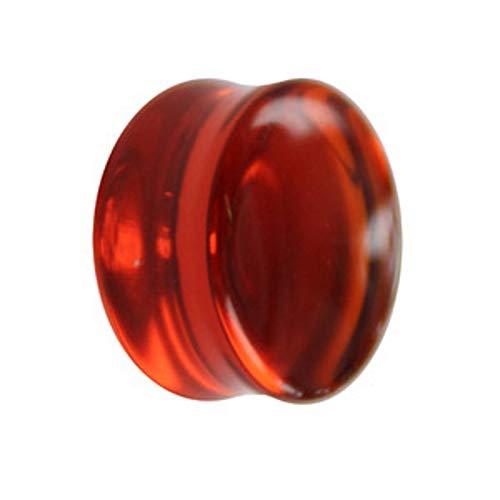 Treuheld Glas Plug - Orange 8 mm
