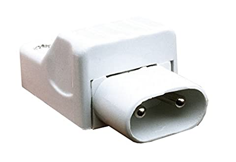 Leyton Lighting T5 re-wireable male plug (rewiareable connector link leads)