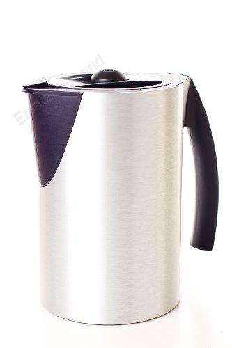 Design Kaffeemaschine (Thermoskanne / Kaffeekanne / Ersatzkanne für Porsche Kaffeemaschine - Teile-Nr. 264701 - gerade Form)
