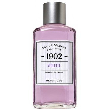 1902 VIOLETTE von Berdoues für Damen. EAU DE COLOGNE TRADITION SPLASH 16 oz / 480 ml
