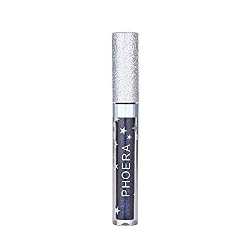 DEELIN Lippenstifte Liquid Matte Lipstick Dauerrhaft Lip Liner Make up, Rainbow Matte to Glitter Flüssiger Lippenstift Wasserdichtes Lipgloss Makeup -