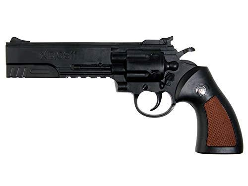 0911 Revólver Interceptor Pistola de Airsoft 6mm (Bolas de plástico/PVC) lowcost. Potencia: 0.21 Julios