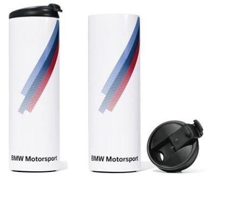 Preisvergleich Produktbild NEU - BMW Motorsport Thermobecher Original Thermo-Becher 80232446455 Isobecher 2446455