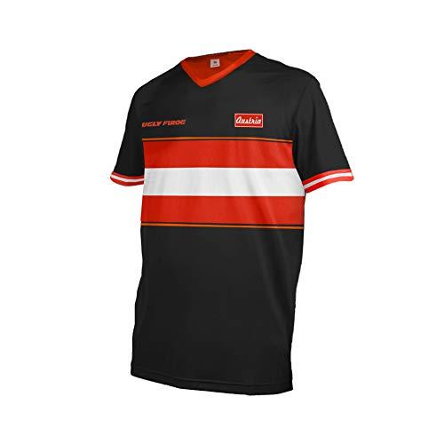 Uglyfrog+ 2018-2019 Jersey Mountain Bike Motocross Downhill Enduro Cross Motorrad MTB Shirt Herren Short Sleeve Sommer Style Austria Österreich