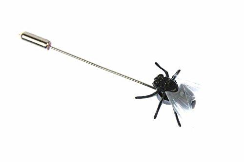 fliege-krawattenhalter-miniblings-anstecknadel-pin-anstecker-schmeissfliege
