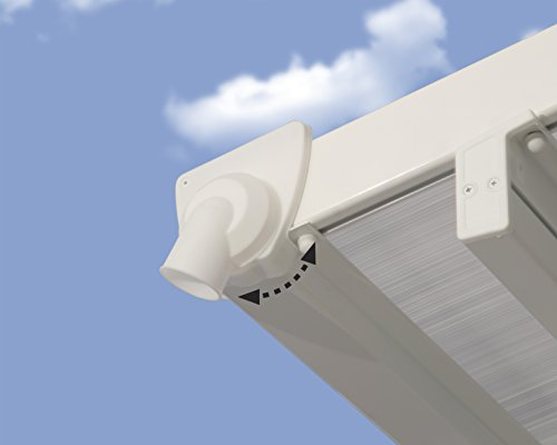 Hochwertige Aluminium Terrassenüberdachung, Terrassendach 300×730 cm (TxB) – weiß - 4