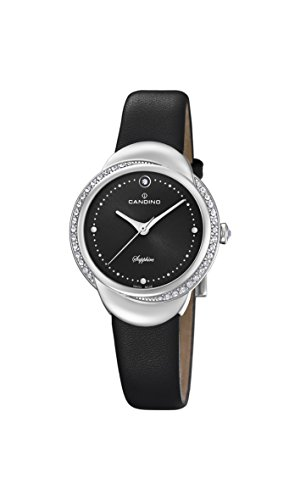 Candino Womens Analogue Classic Quartz Watch with Leather Strap C4623/2