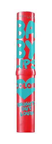 Maybelline New York Bright Out Loud Baby Lips, Vivid Peach, 1.9g