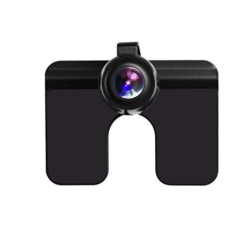 Auto-Vox CAM6 Auto Rückfahrkamera 170 Grad Weitwinkelobjektiv IP68 Wasserdichte stark Nachtsicht, für Rückfahrhilfe&Einparkhilfe ideal universal für die meisten Automodell inklusiv Truck&RV, besondes für EU-Kennenzeichen